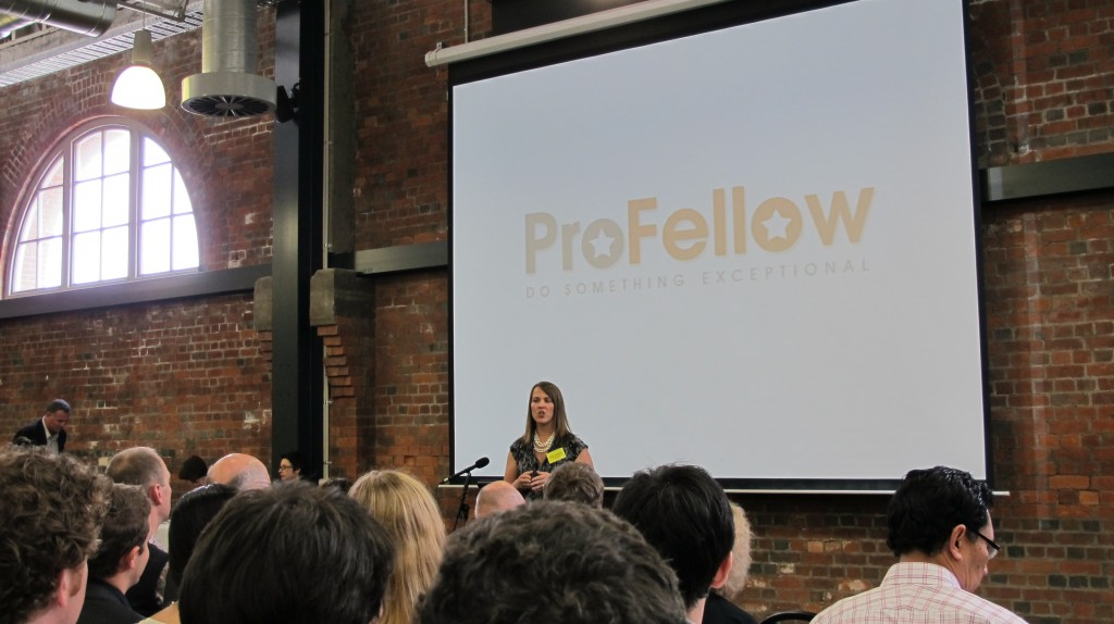 ProFellow 2011 Bright Ideas Challenge Finalist