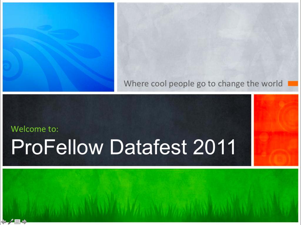 ProFellow Datafest 2011