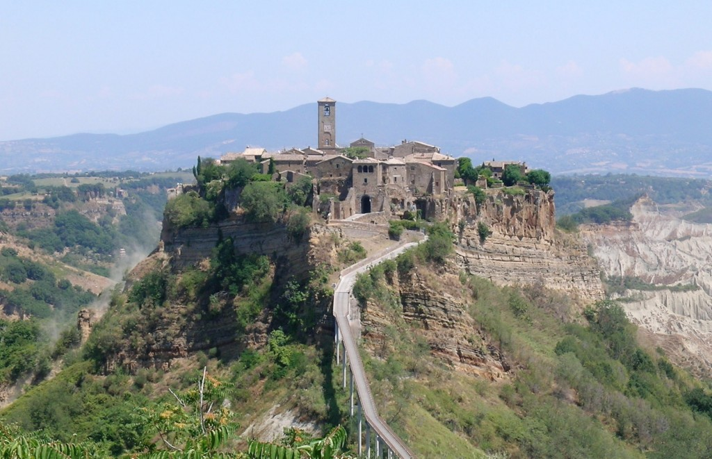 Bagnoregio Civita, Italy