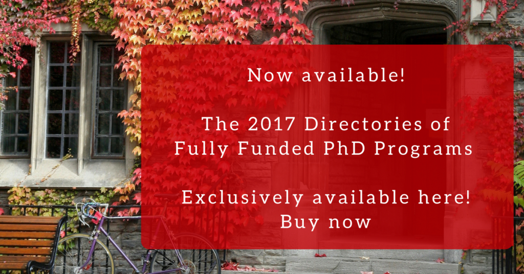 The Directories of Fully Funded PhD Programs