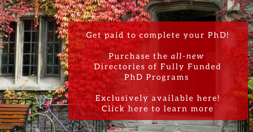 Fully Funded PhD Programs