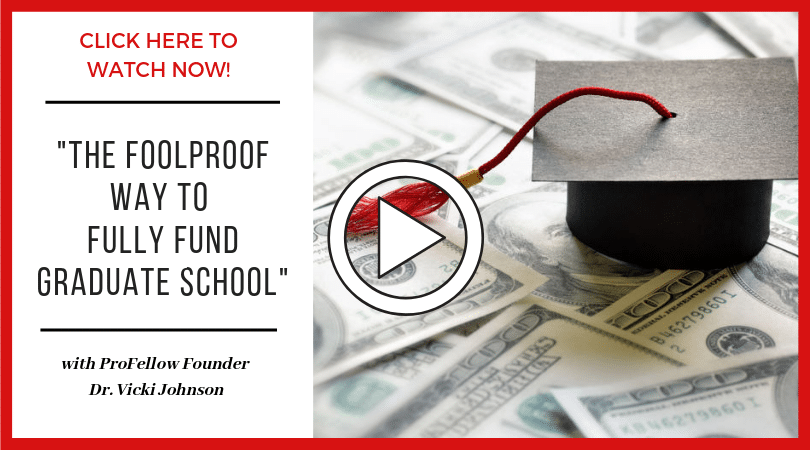 "Watch ""The Foolproof Way to Fully Fund Graduate School"""