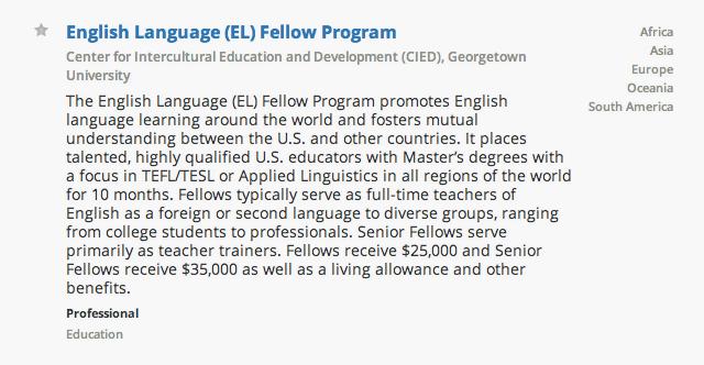 Fellowship Description Example