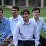 L to R: Erik Stout, Brian Perea, Michael Kenney,  John Ingraham