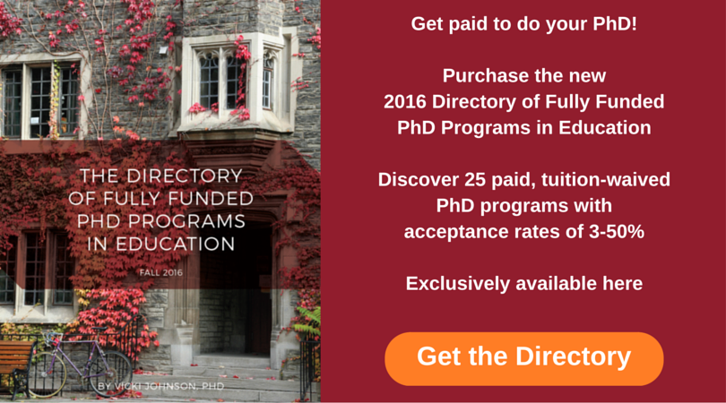 Fully Funded PhD Programs in Eduation