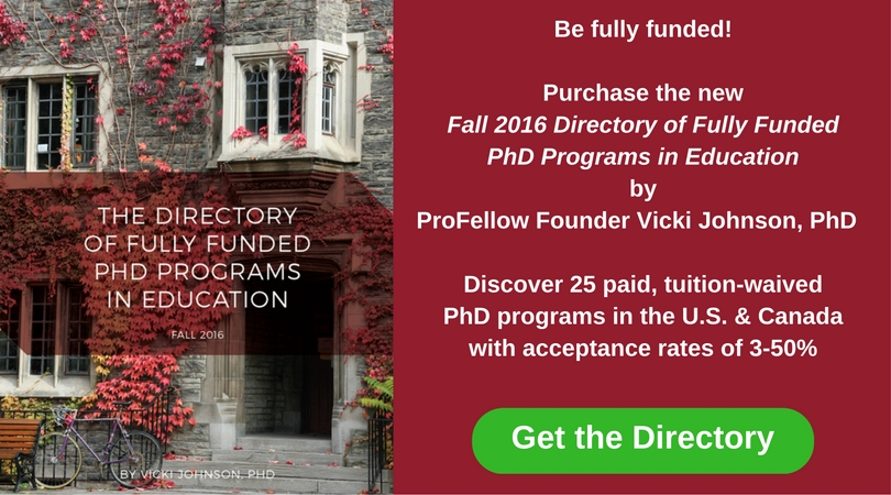 Fully Funded PhD Programs in Education