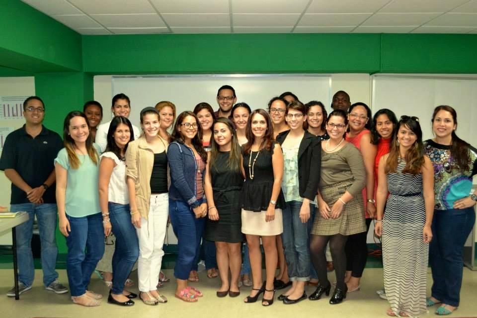 PARACa Fellows at a public education workshop with Sapientis' Executive Director Mariely Rivera Hernández
