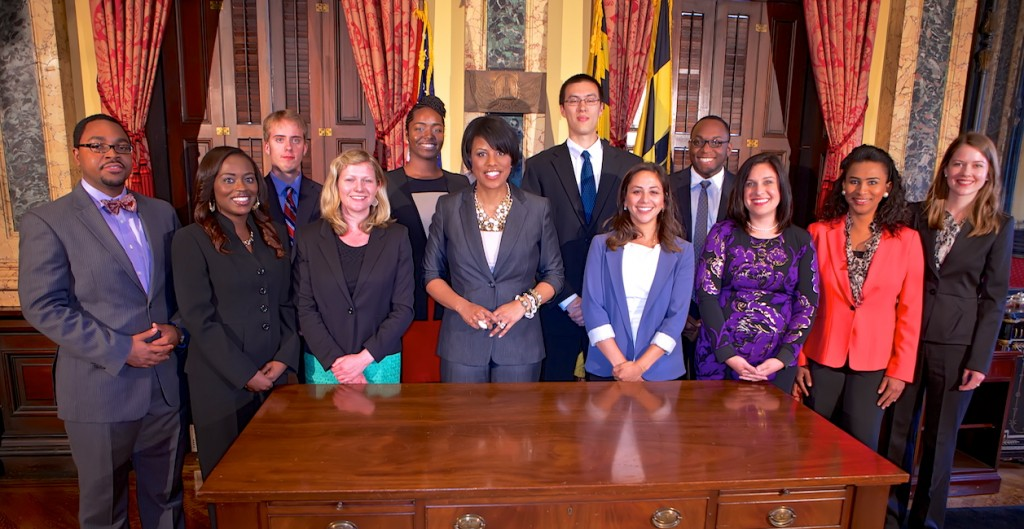 The 2013 Baltimore Mayoral Fellows
