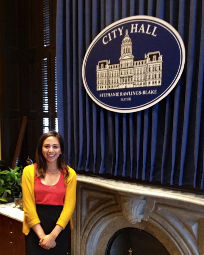 Baltimore City Mayoral Fellow Michelle Rau