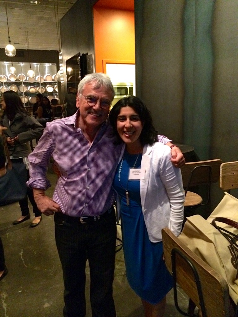 ProInspire Bay Area Executive Director Gene Kunde and Founder Monisha Kapila