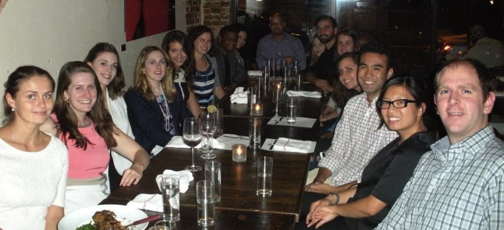 Washington DC Esteemed Fellows Dinner sponsored by Cultural Vistas (October 9, 2014)
