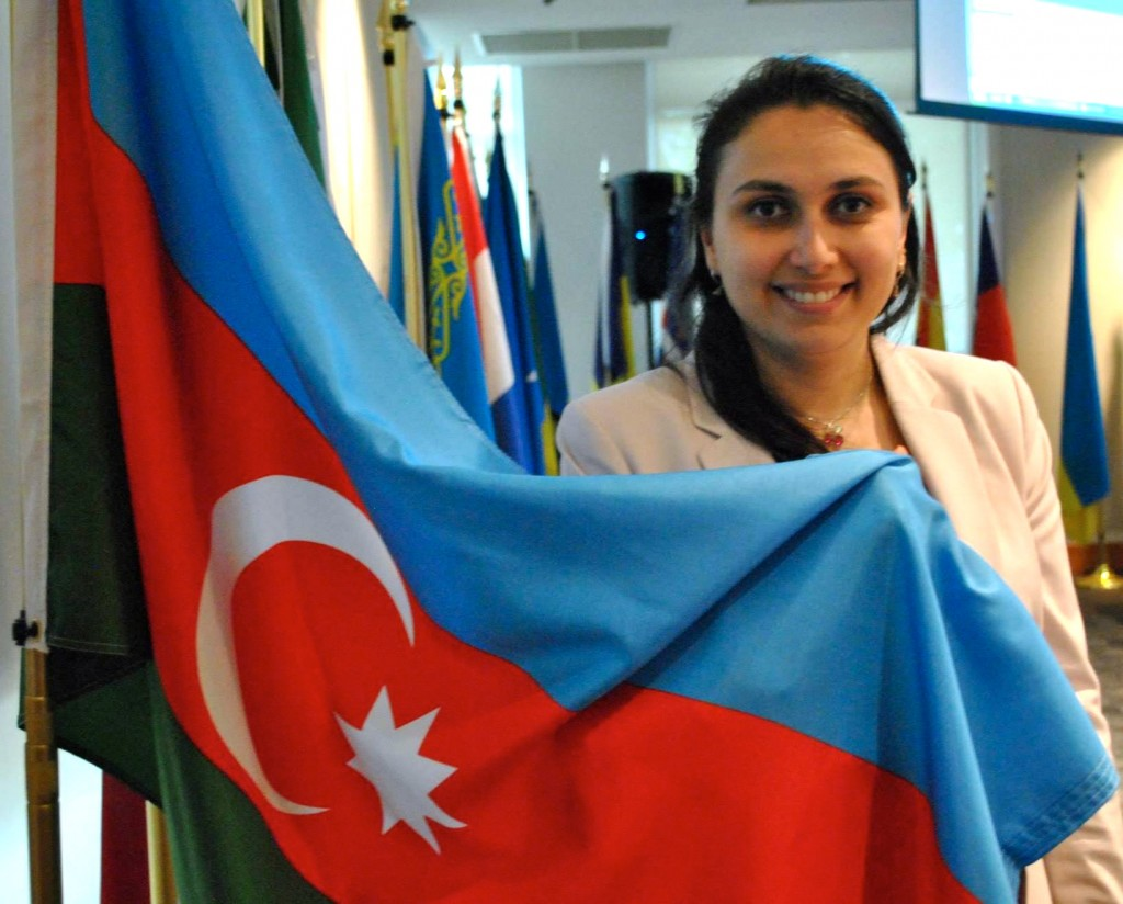 January 2013 Atlas Corps Fellow Nurangiz Khodzharova