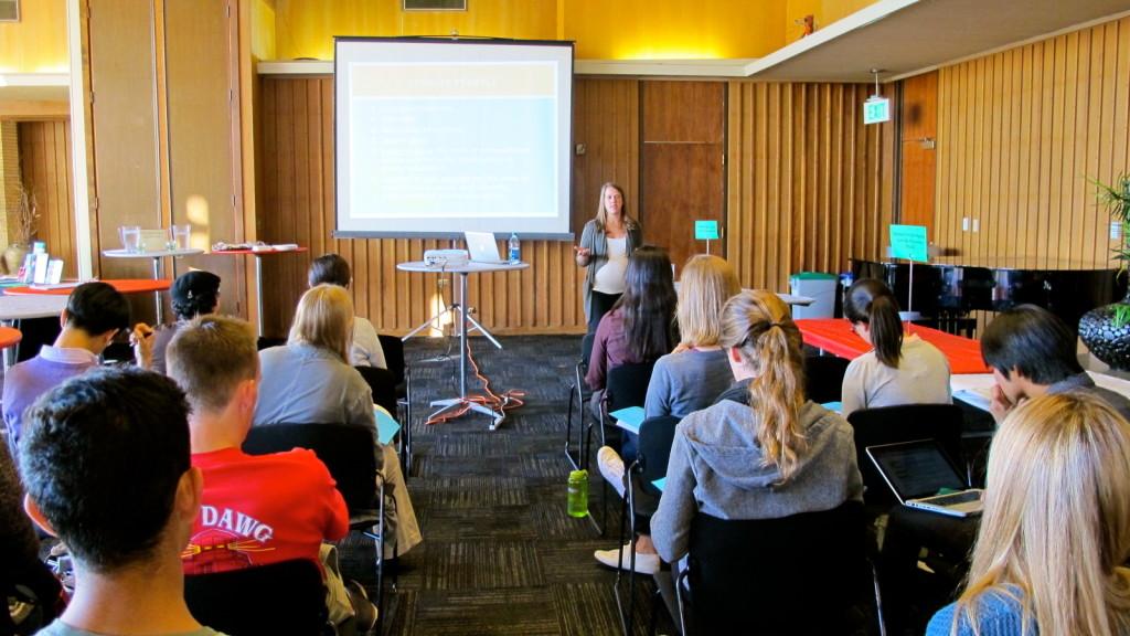 Stanford career fair, Vicki Johnson, ProFellow, university seminar tour, fellowships seminar