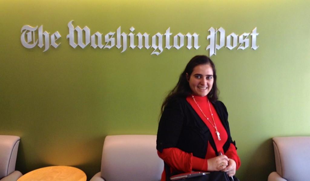 Professional Fellow, Youssra El-Sharkawy, Washington Post