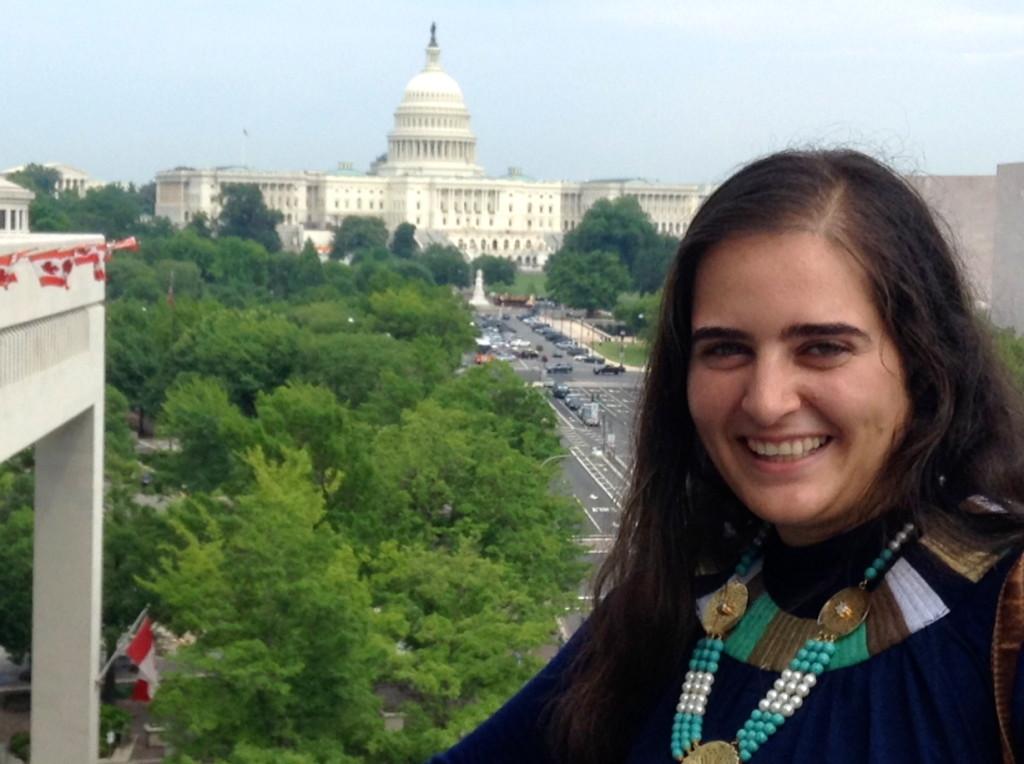 Professional Fellow Youssra El-Sharkawy in Washington, DC