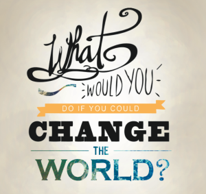 What would you do if you could change the world-screenshot