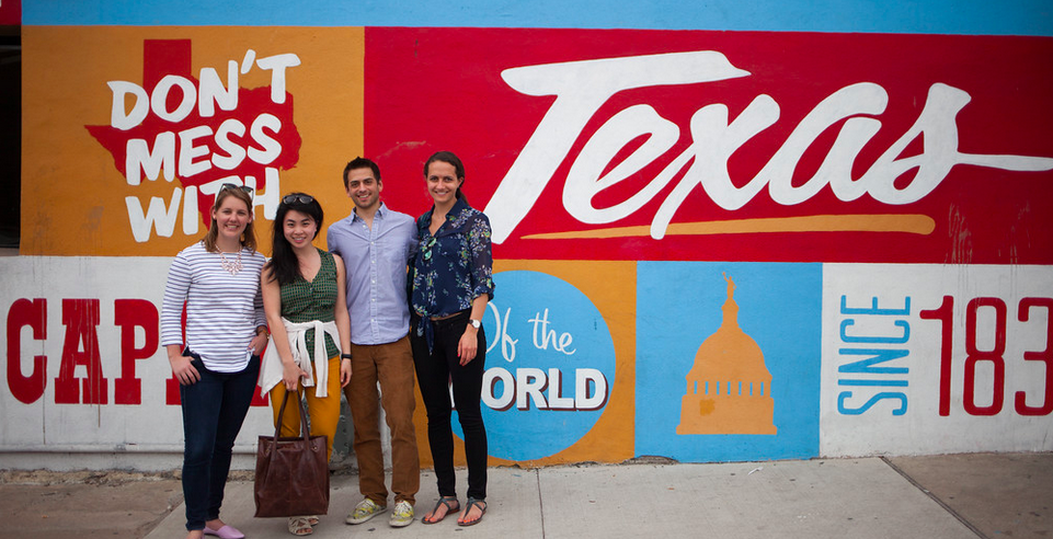 The Health for America Fellows in Austin, TX for SXSW Interactive 2015