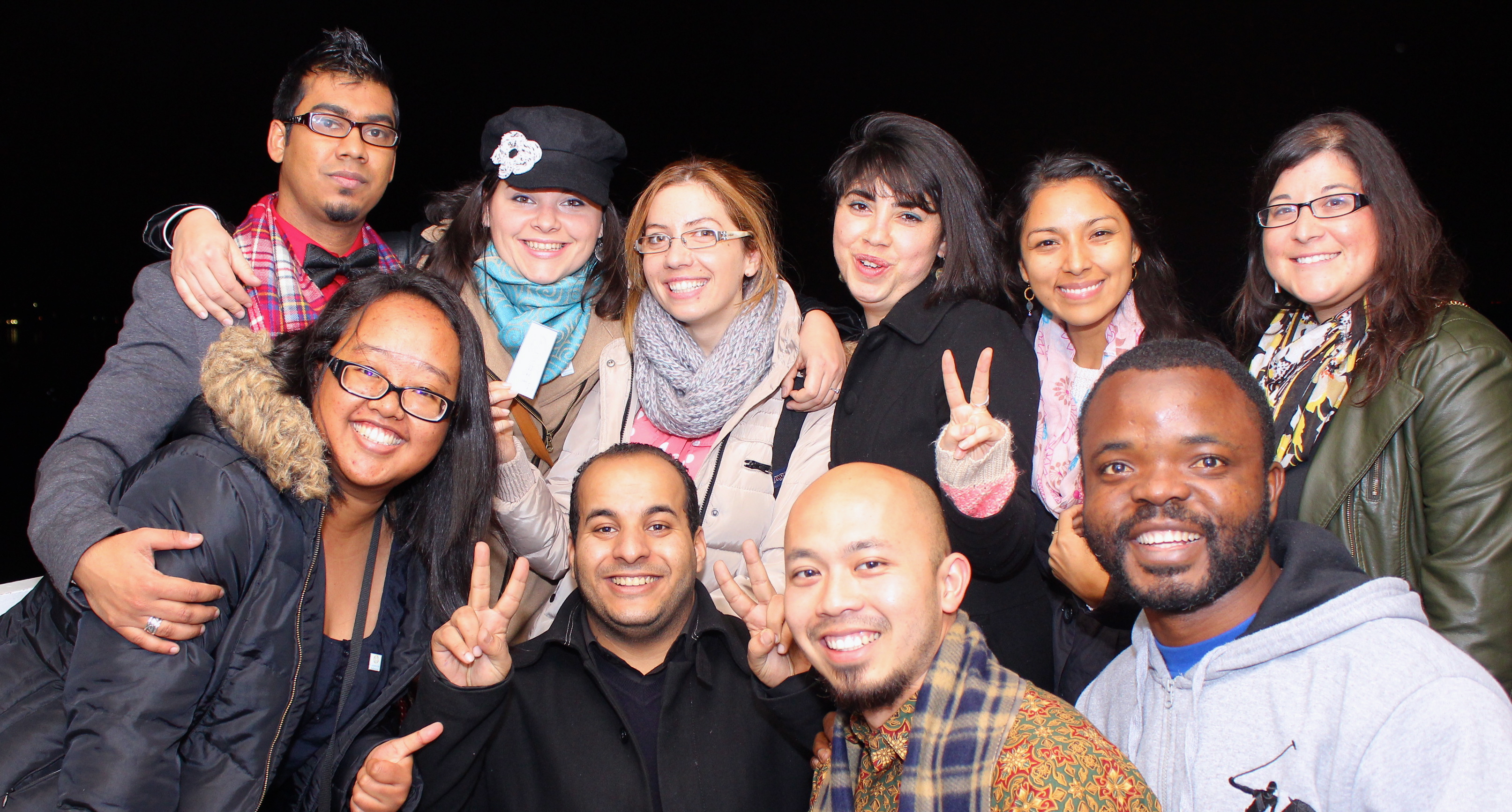 2013 Community Solutions Fellows (Abdillah Zamzuri, last row second from right)