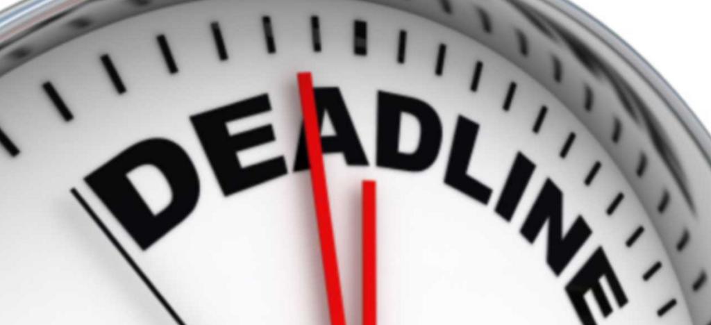 ProFellow deadline