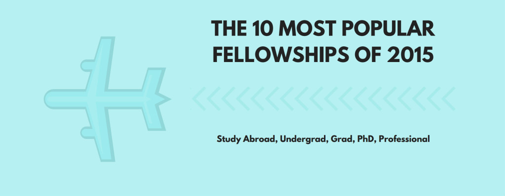 The 10 Most Popular Fellowships of 2015