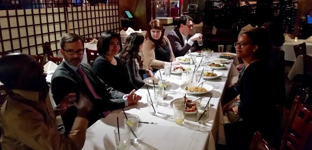 International Fellows Network Dinner DC