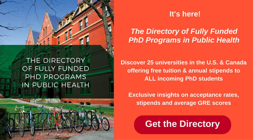Fully Funded PhD Programs in Public Health | ProFellow