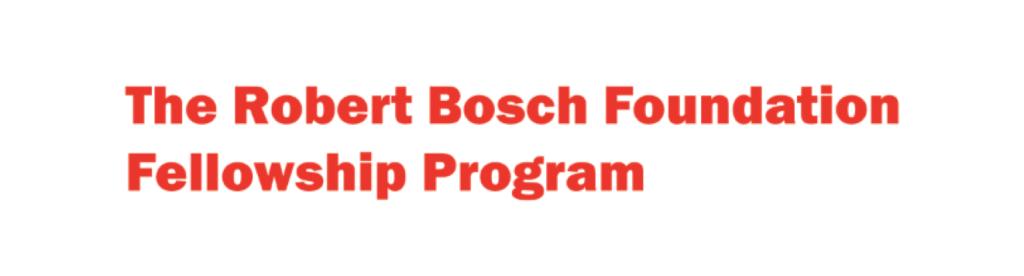Robert Bosch Foundation Logo