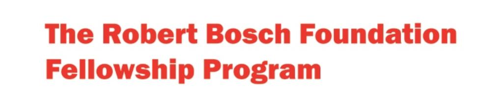 Robert Bosch Foundation Fellowship Logo