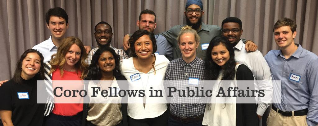 Coro Fellowship in Public Affairs Pittsburgh