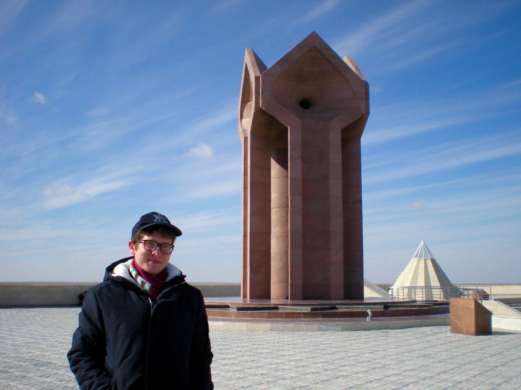 Peter Oster Fulbright ETA Kazakhstan