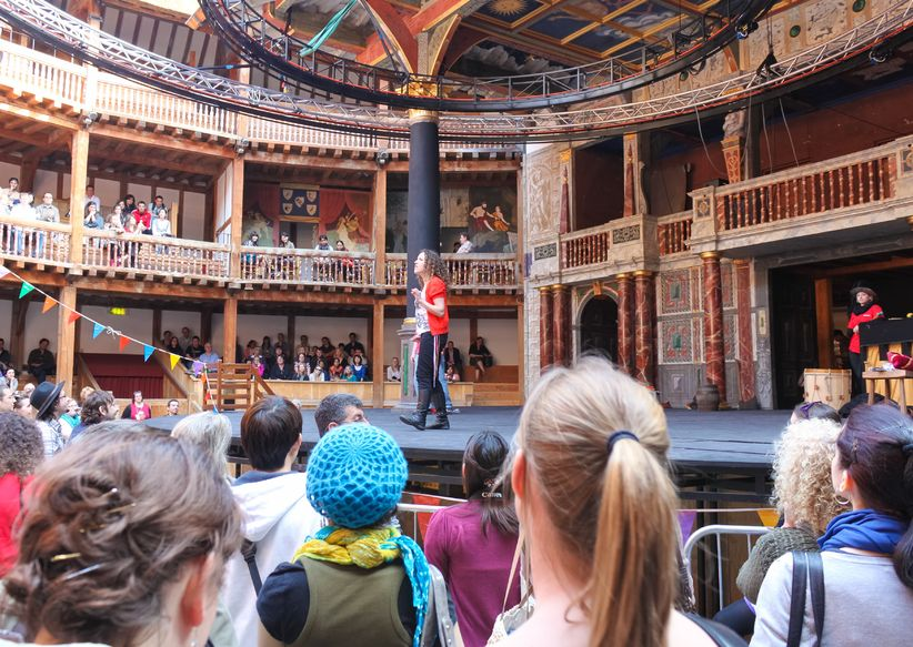 Get on stage at Shakespeare's Globe Theatre in London with a Fulbright Commission sponsored summer fellowship