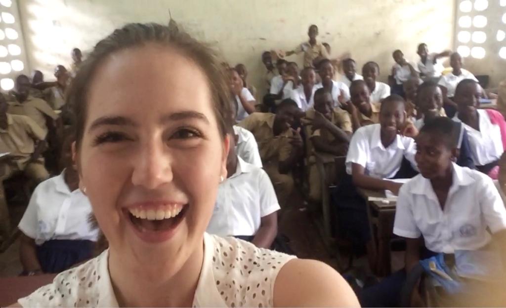 Cathryn Peirce Fulbright ETA Cote d'Ivoire