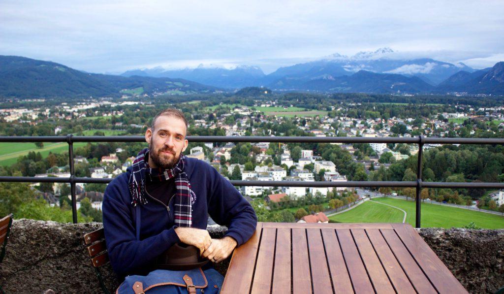 German Chancellor Fellow Josh Crites
