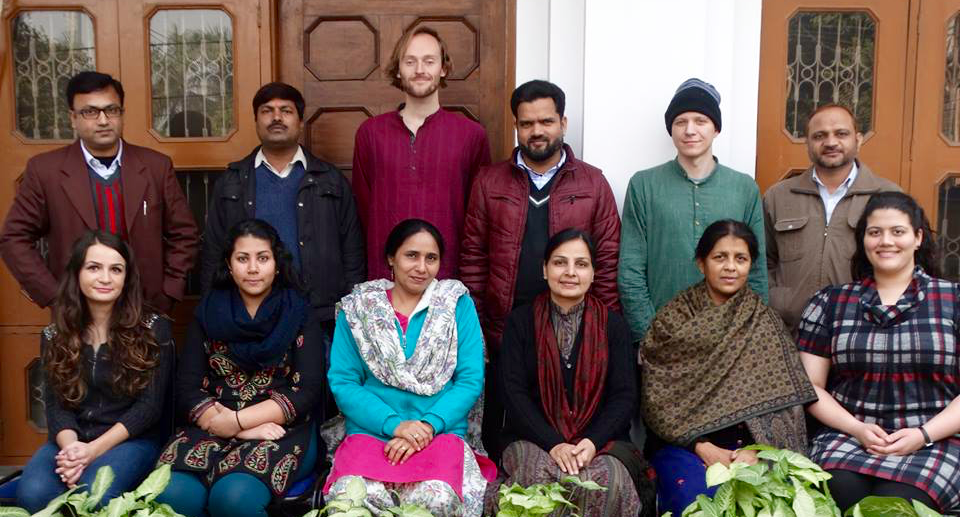 AIIS Language Fellows and their instructors