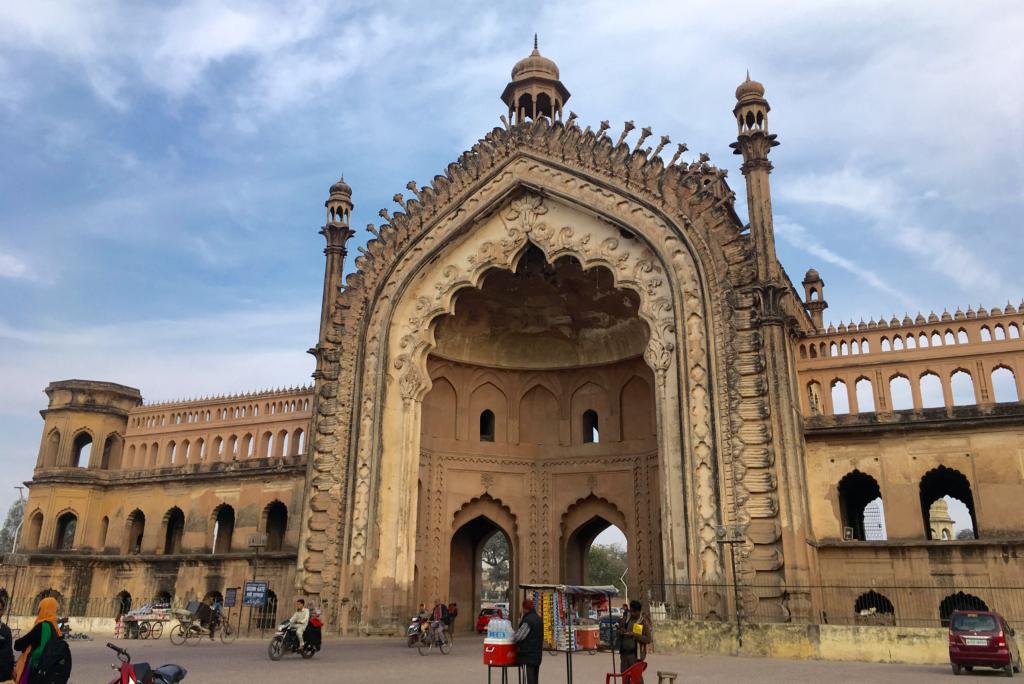 The Rumi Darwaza, in Lucknow, Uttar Pradesh, India