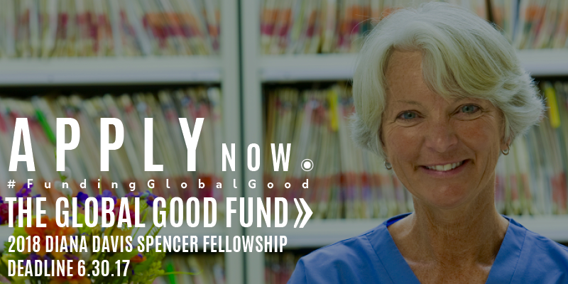 Diana Davis Spencer Fellowship for Social Entrepreneurs