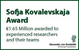 Sofja Kovalevskaja Award