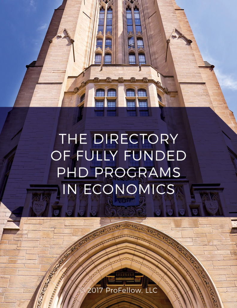 The Directory of Fully Funded PhD Programs in Economics