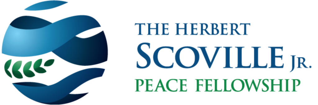 Hebert Scoville Jr. Peace Fellowship Logo