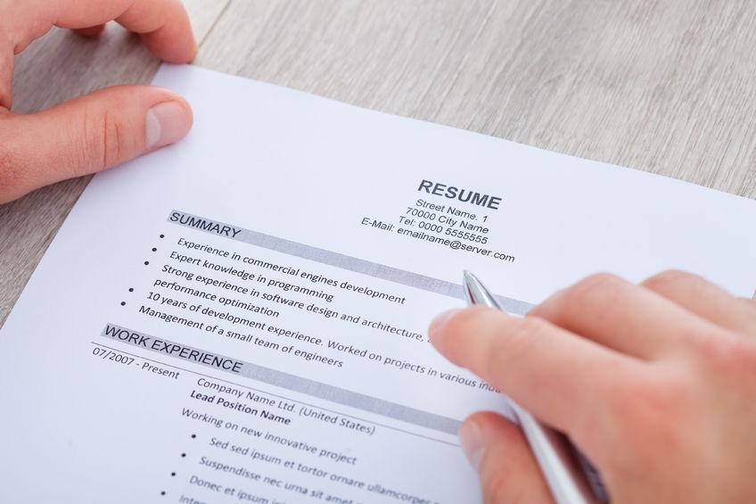 Resume and CV Revamp Workshop