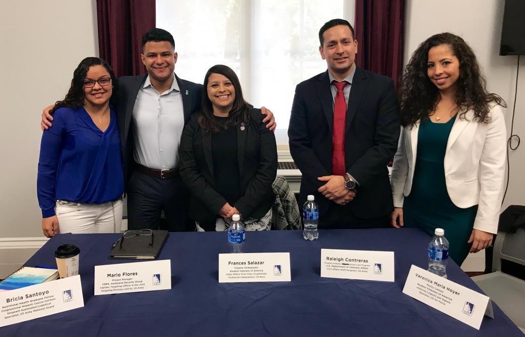 Francheska Congressional Hispanic Caucus Institute Veteran Panel