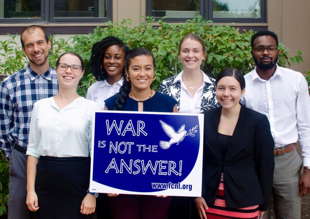 Now Accepting Applications for the FCNL's Young Fellows Program: Learn About the Legislative Process in Washington, DC