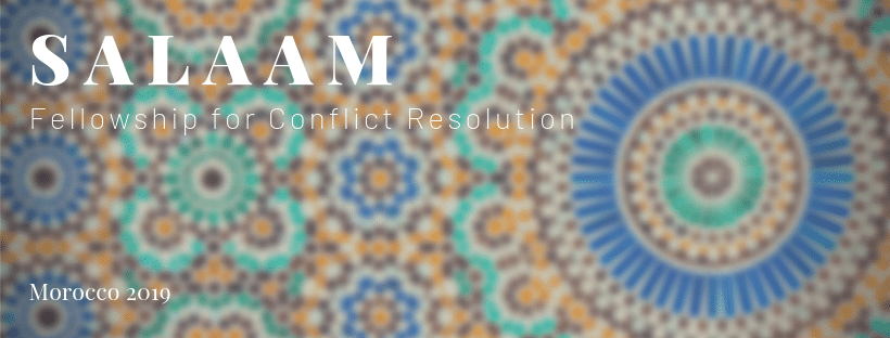 Seeking Peace Fellows for the Salaam Fellowship for Conflict Resolution